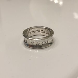 Tiffany and Co. Sterling Silver Ring